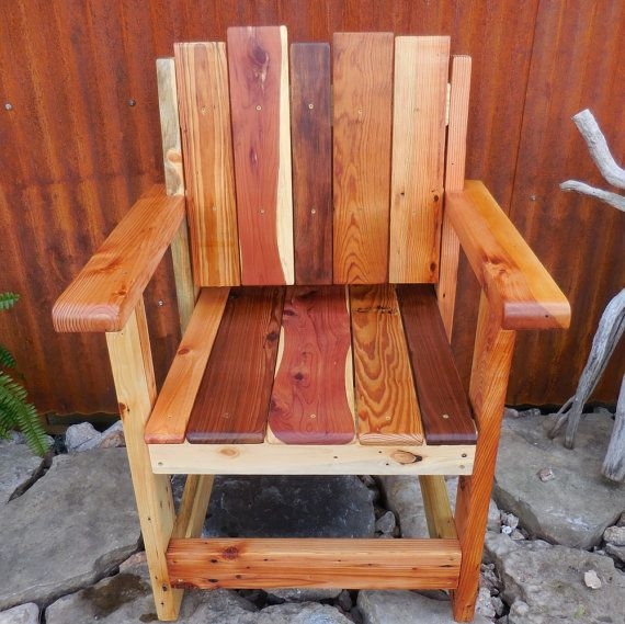 Reclaimed Wood Chair Reclaim Wood Furniture Rustic Wood Chair Salvaged Lumber Chair Modern Furniture Rust Wood Chair Reclaimed Wood Chair Rustic Furniture