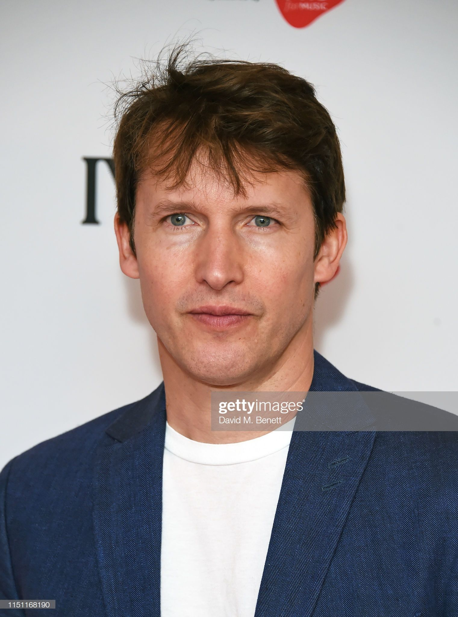 James Blunt attends The Ivors 2019 at Grosvenor House on May 23 ...