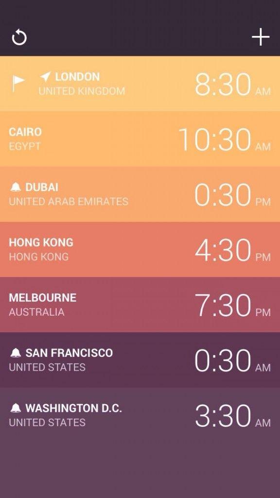 Amount Developer Releases Gorgeous World Clock App Globo For