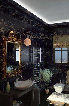 Marble Tile A Beautiful Bathroom Choice Modern Bathroom Modern Bathroom Design Bathroom Design