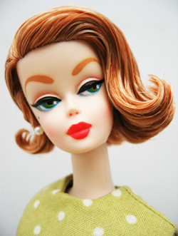 Makeup Retro Barbie Dolls Doll Barbies Repaints One Of A