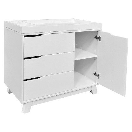 Babyletto Hudson 3 Drawer Changer Dresser With Changing Tray