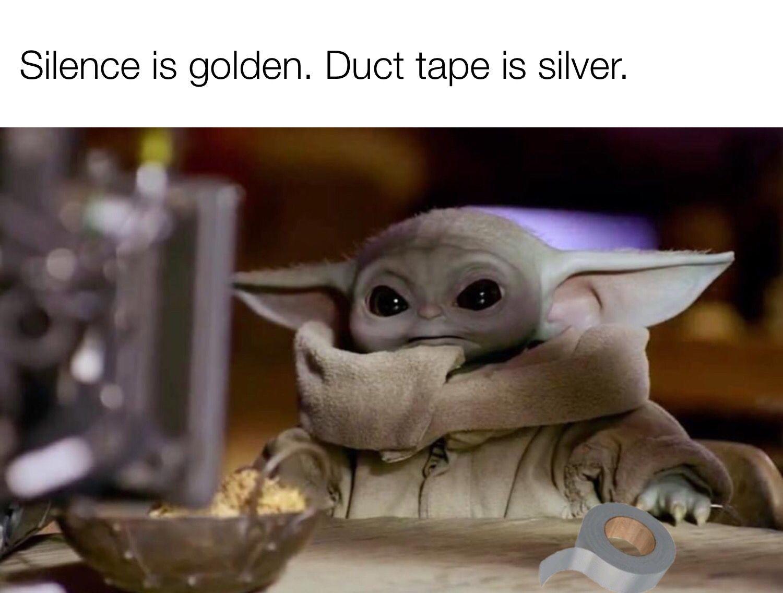 Pin By Yvonne Lauren On Baby Yoda In 2020 Funny Star Wars Memes Yoda Funny Yoda Meme