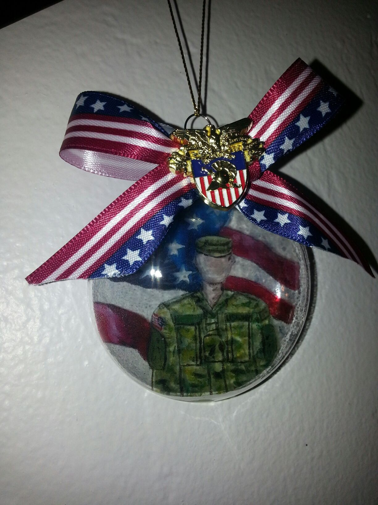 Soldier Christmas Ornament by Ann Morrison. Art by NiCOle | West ...