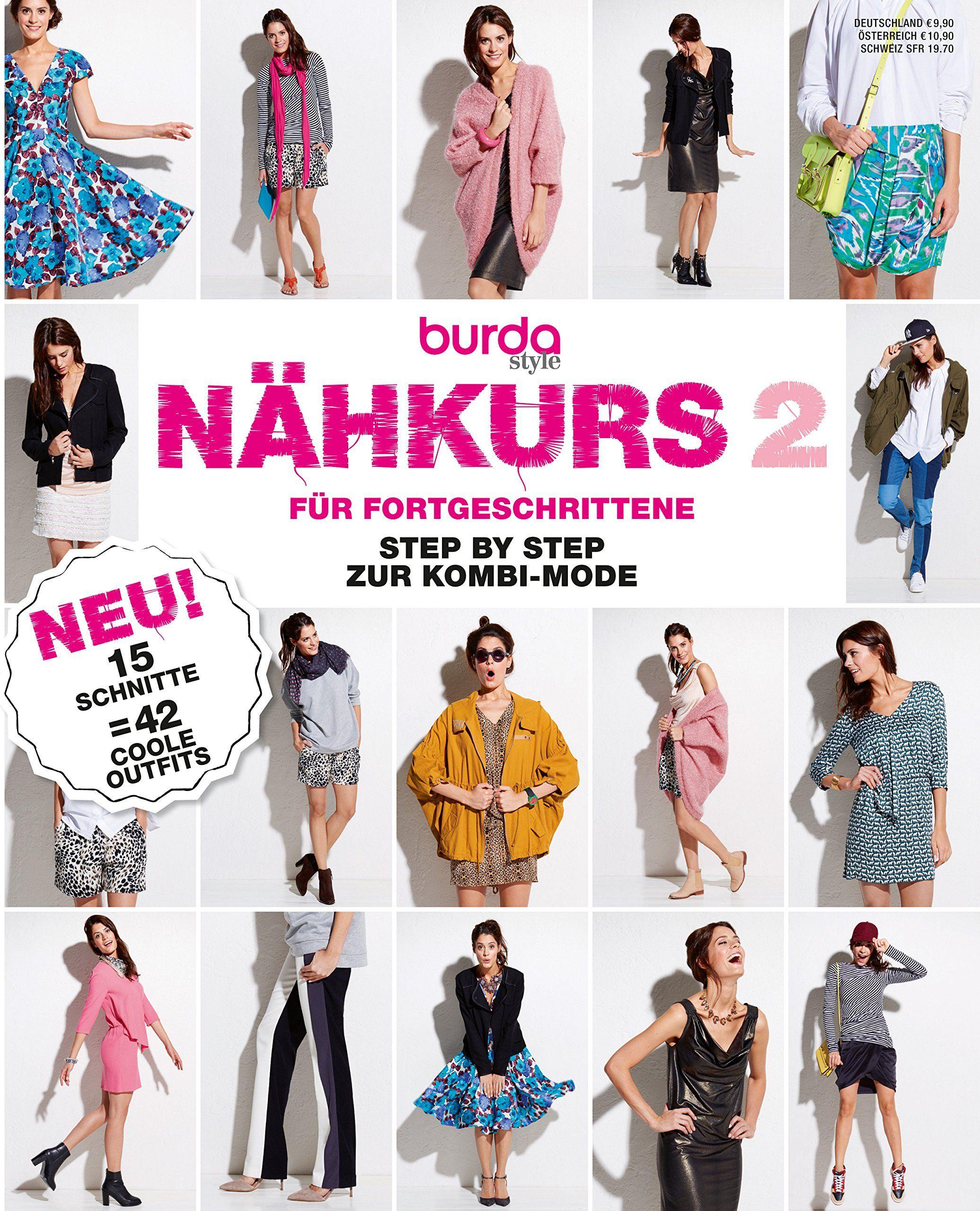burda Schnittmuster Nähkurs für Fortgeschrittene: Amazon.de: Burda ...