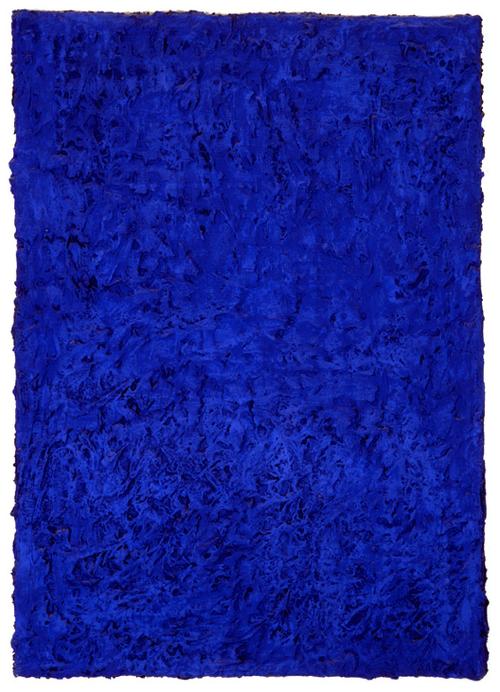 yves klein monochrome bleu sans titre ikb 46 1955 yves klein pinterest blau weg und. Black Bedroom Furniture Sets. Home Design Ideas