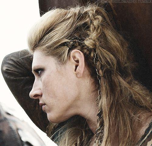 chain in hair braid my favorite viking shieldmaiden lagertha