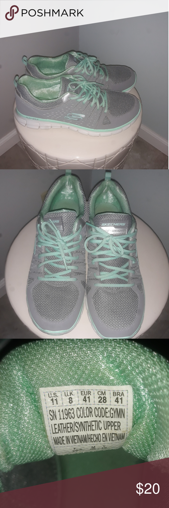 Sketchers womens 11 wide shoes in 2020