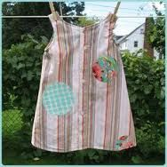 Image result for upcycled mens shirts to girls