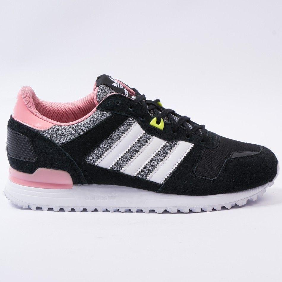 promo code eef54 2ab6f Adidas ZX 700 W Zapatillas para mujer,color negro blanco dorado, talla 38 2  3 www amazon es el negro Cordones