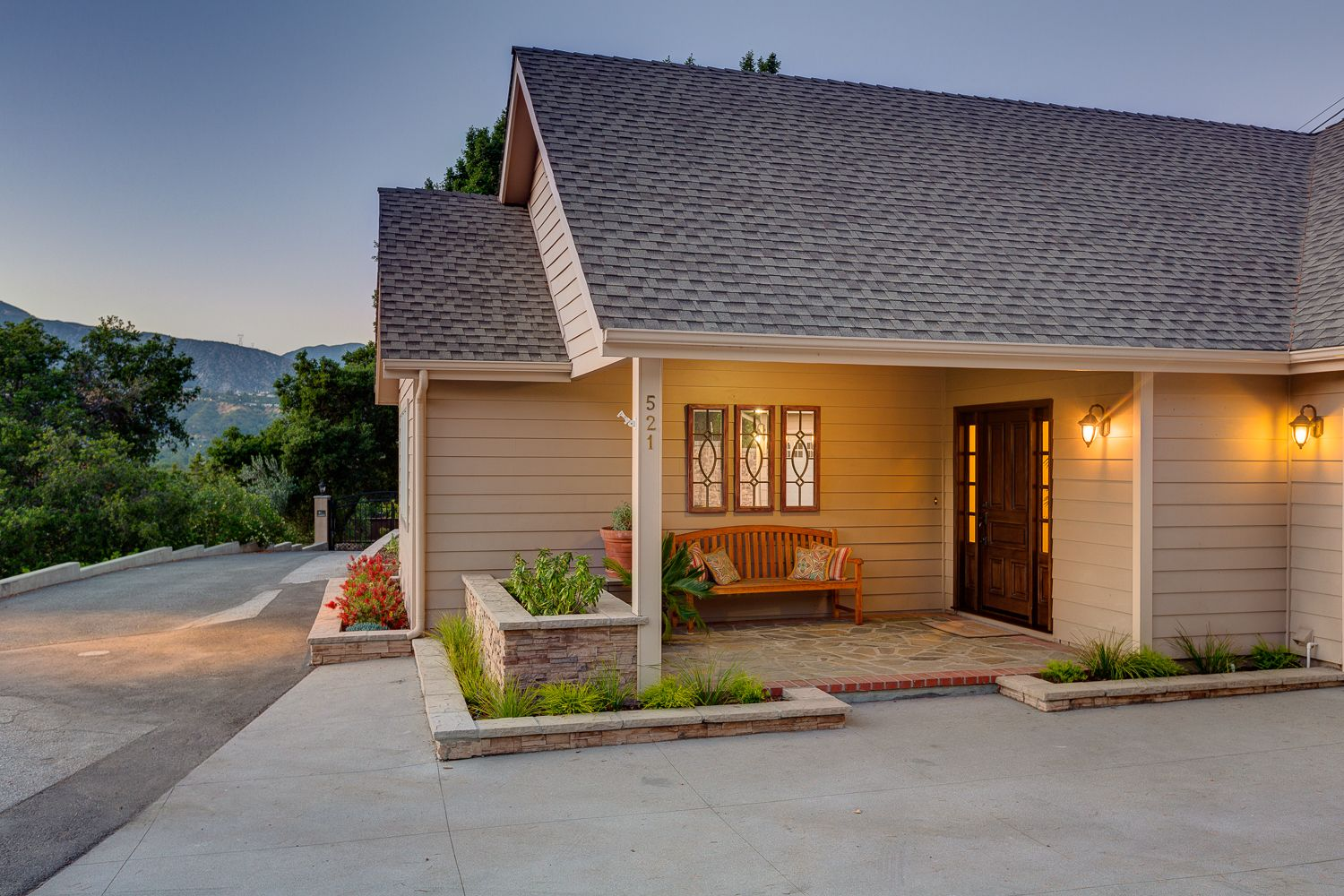 Expansive Mountain Views - Updated Traditional Pool Home ... on Backyard Decor Canada id=62396