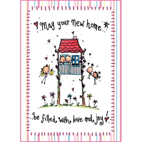 May your new home be filled with love and joy!