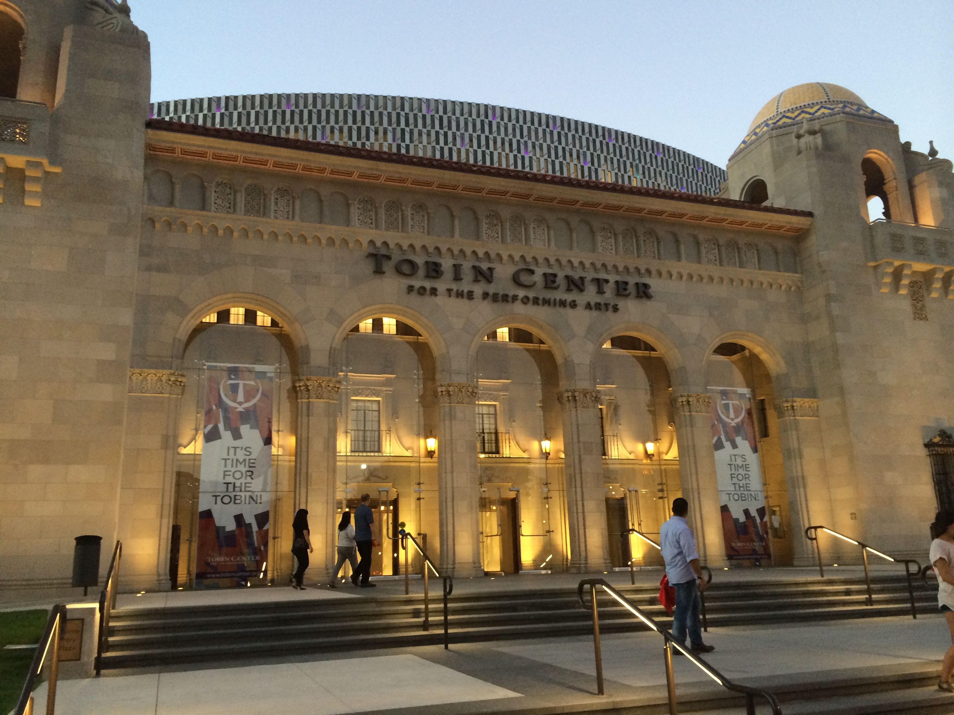 Tobin Center For The Performing Arts San Antonio Tx Lmn