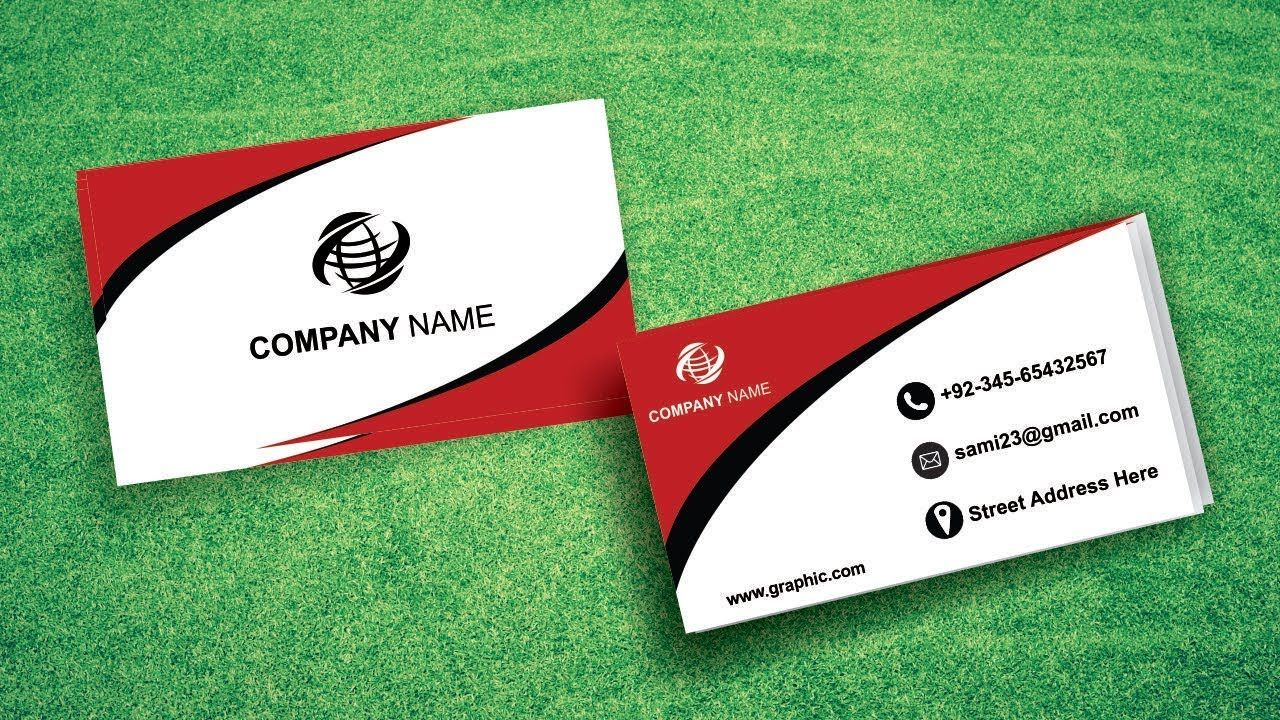 How To Make A Business Card Design In Coreldraw Tutorial In Urdu Hindi Business Card Design Make Business Cards Card Design