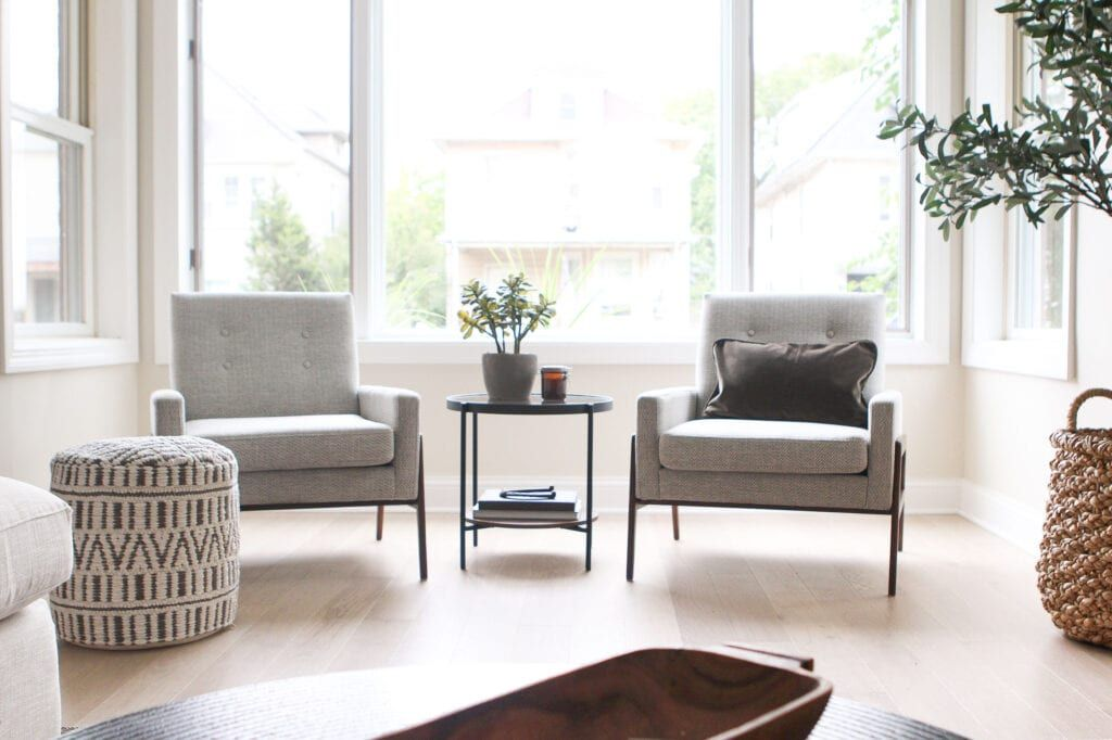 Living Room Seating Adding Cozy Chairs The Diy Playbook Small Sitting Rooms Living Room Seating Living Room Design Decor #small #living #room #armchairs