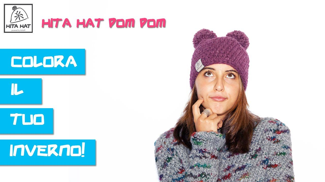 HITA HAT pom pom! Colora il tuo inverno / Color your winter!  #hitahat #alpaca #yarn #handmade #crochet #uncinetto #kithandmade #kit #crochethook #moda #fashion #trend #skateboarding #snowboaarding