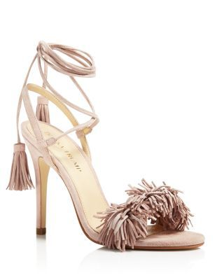 IVANKA TRUMP Hettie High Heel Sandals in Nude Size 8 | Bloomingdale's