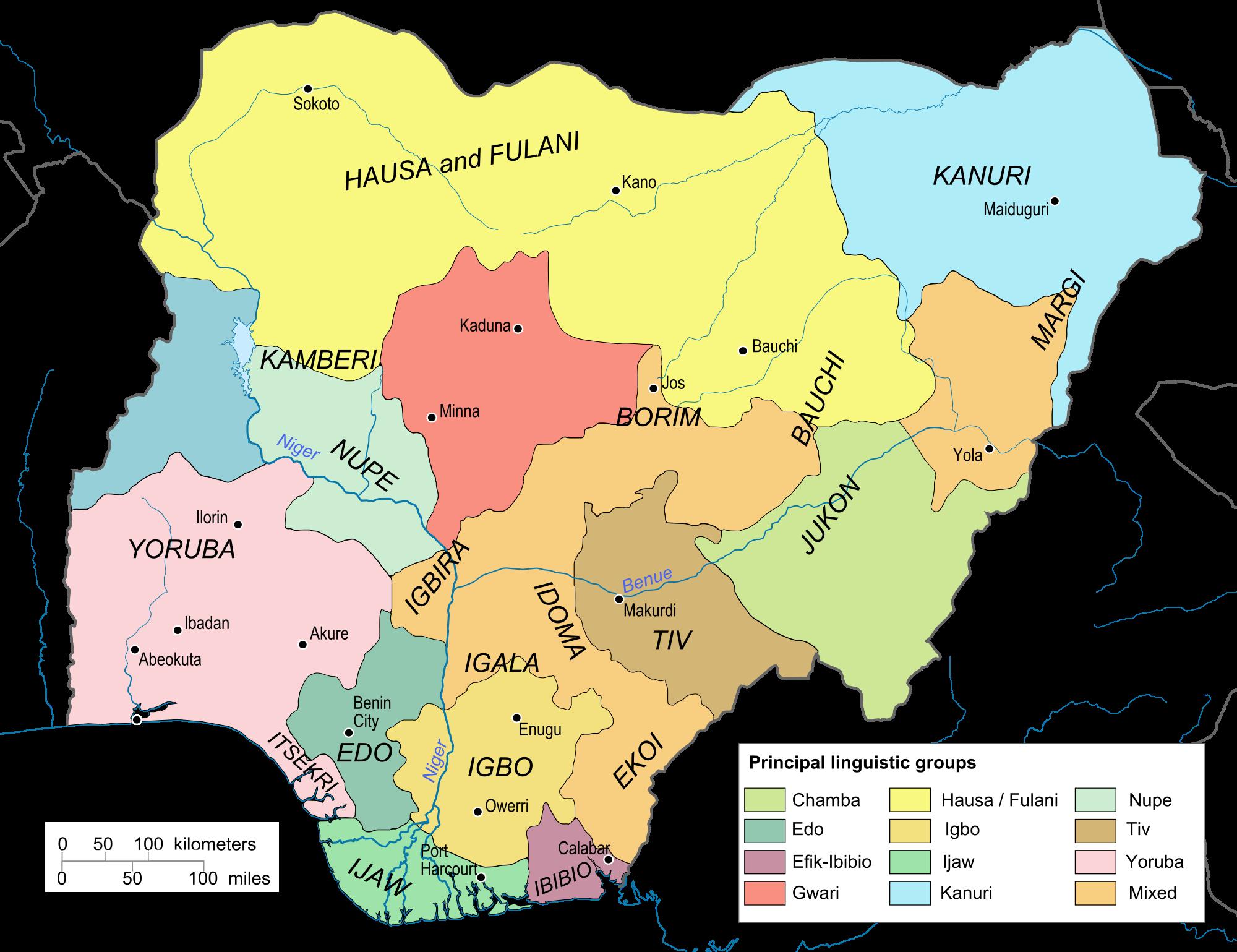 Nigerian Results | Map of nigeria, History of nigeria, Nigerian tribes