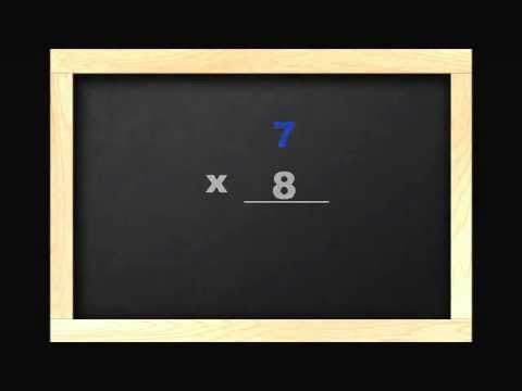 math worksheet : learn 7 times tables with this multiplication video for children  : Multiplication Rap Song