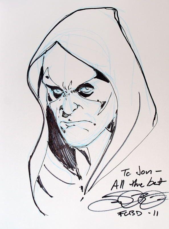 Zartan by Jamal Igle Comic Art