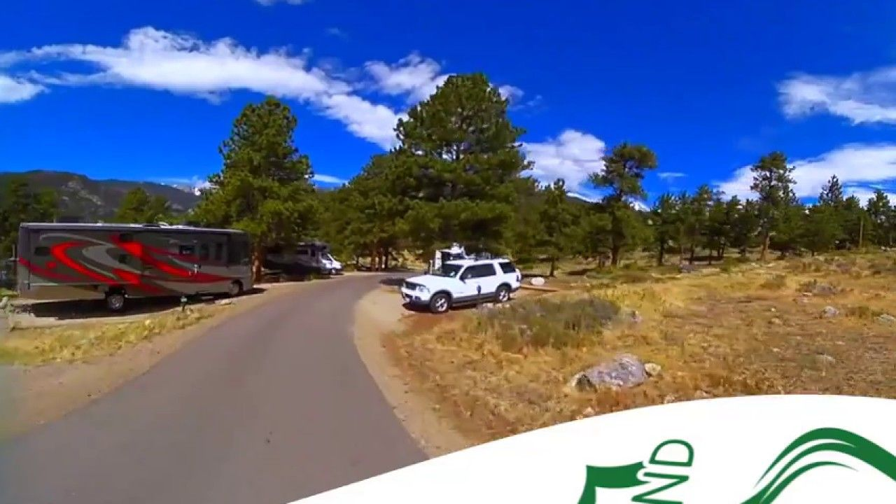 Moraine Park Campground Rocky Mountain National Park 360 Video Virtual Tour Best Rv Parks Rocky Mountain National Park Rocky Mountain National