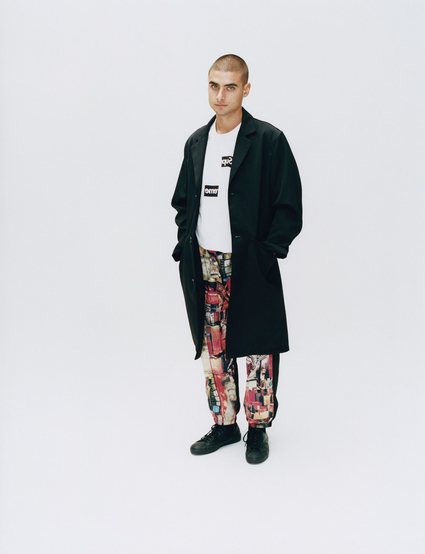 94cfba09fc0 Supreme CDG Shirt Fall Winter 2018 Collection Release Nike Air Force COMME  des GARÇONS jackets shirts sneakers waffle knit