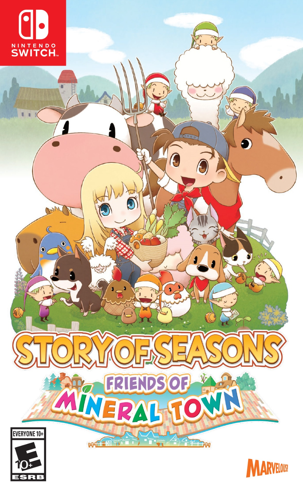 Story Of Seasons Friends Of Mineral Town Review In 2020 Nintendo Switch Nintendo Nintendo Switch Games