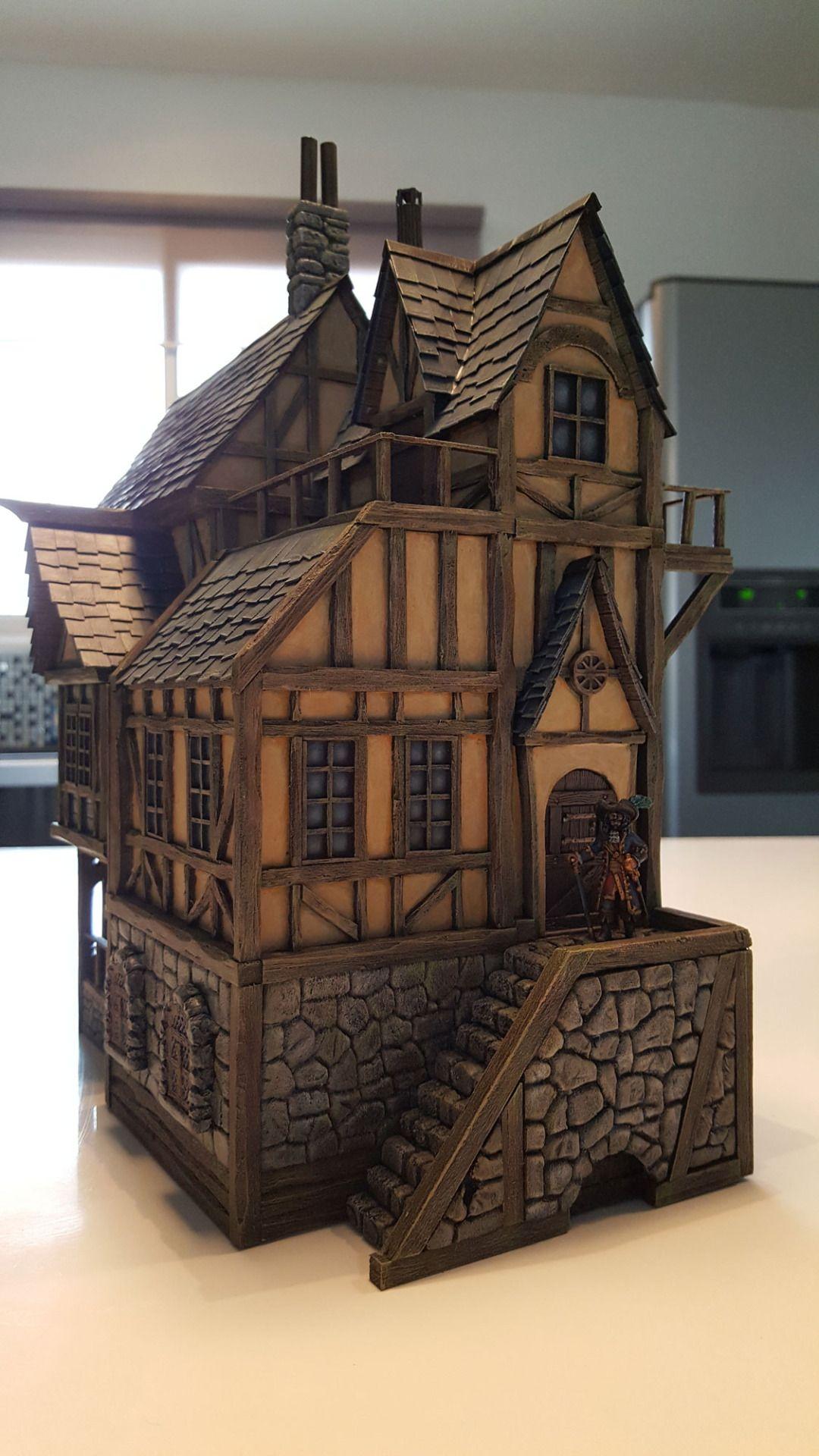 Medieval House Wargaming Maison De Rêve Maison