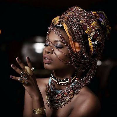 nubian queen goddess black melanin perfection