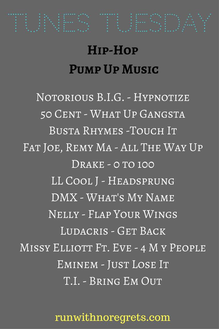 Tunes Tuesday Pump Up HipHop Music Rap playlist, Hip