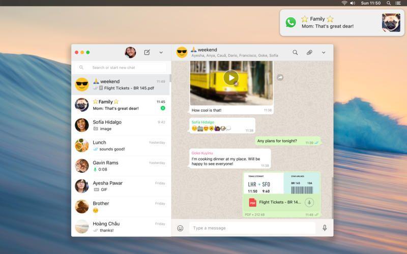 social media apps mac