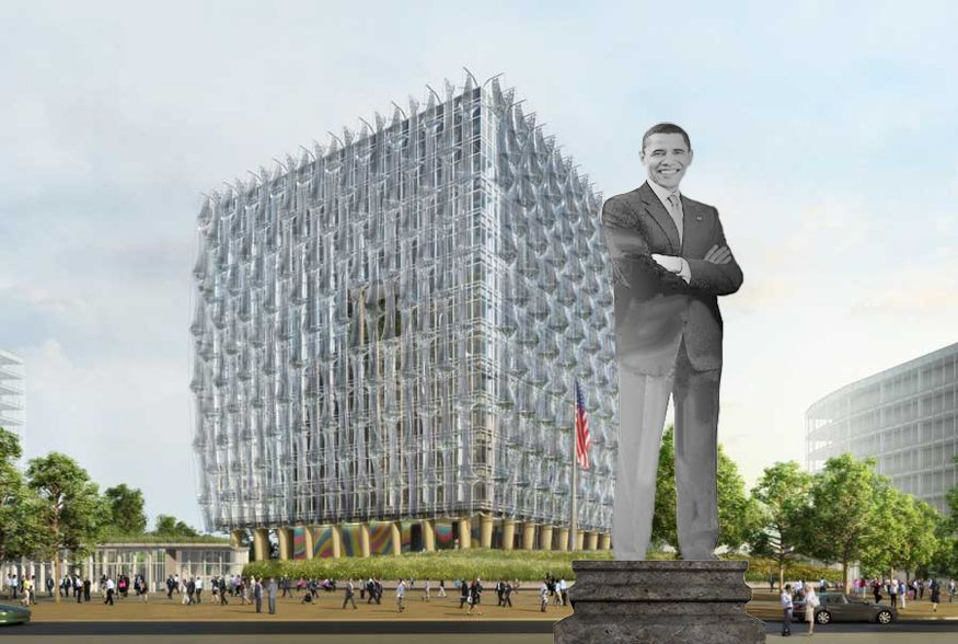 Should London Erect A Statue Of Barack Obama? - Could he be the 7th president with a London statue?