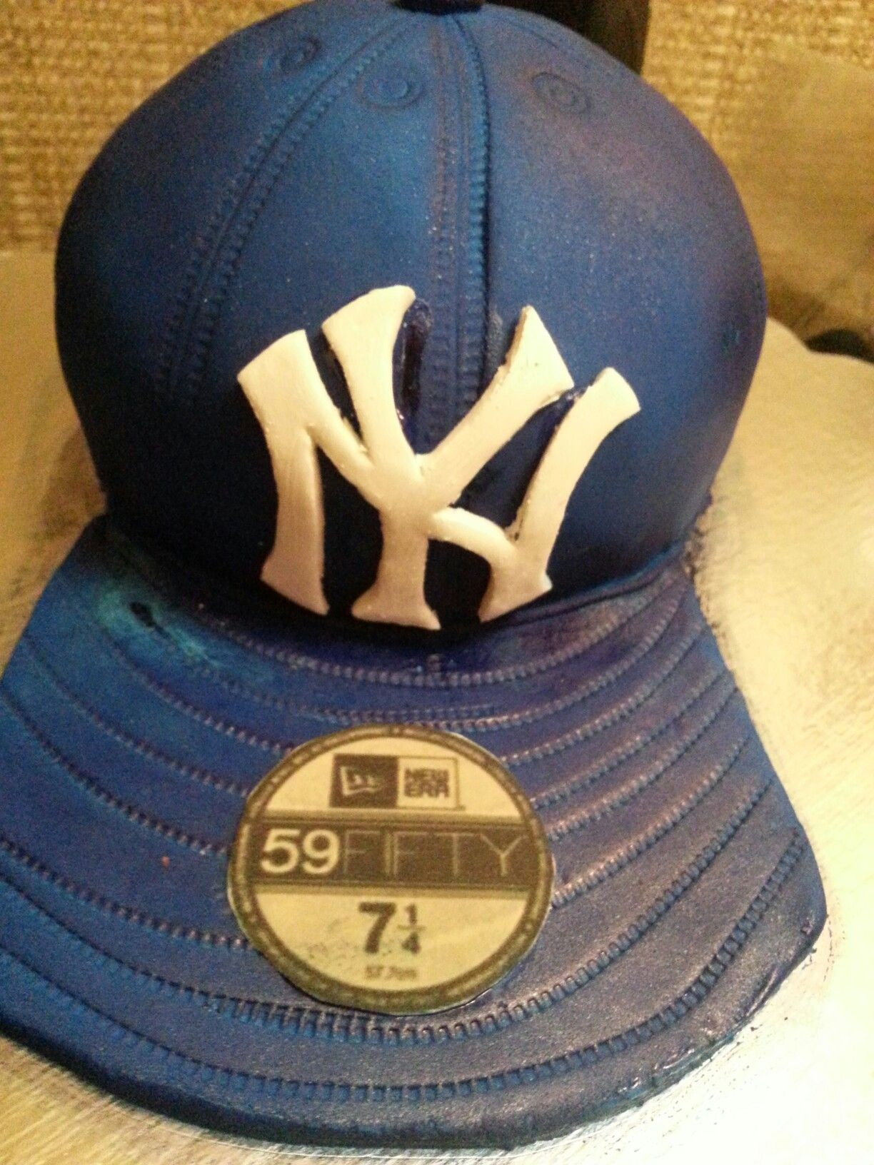 Baseball hat cake  29a2d08442b