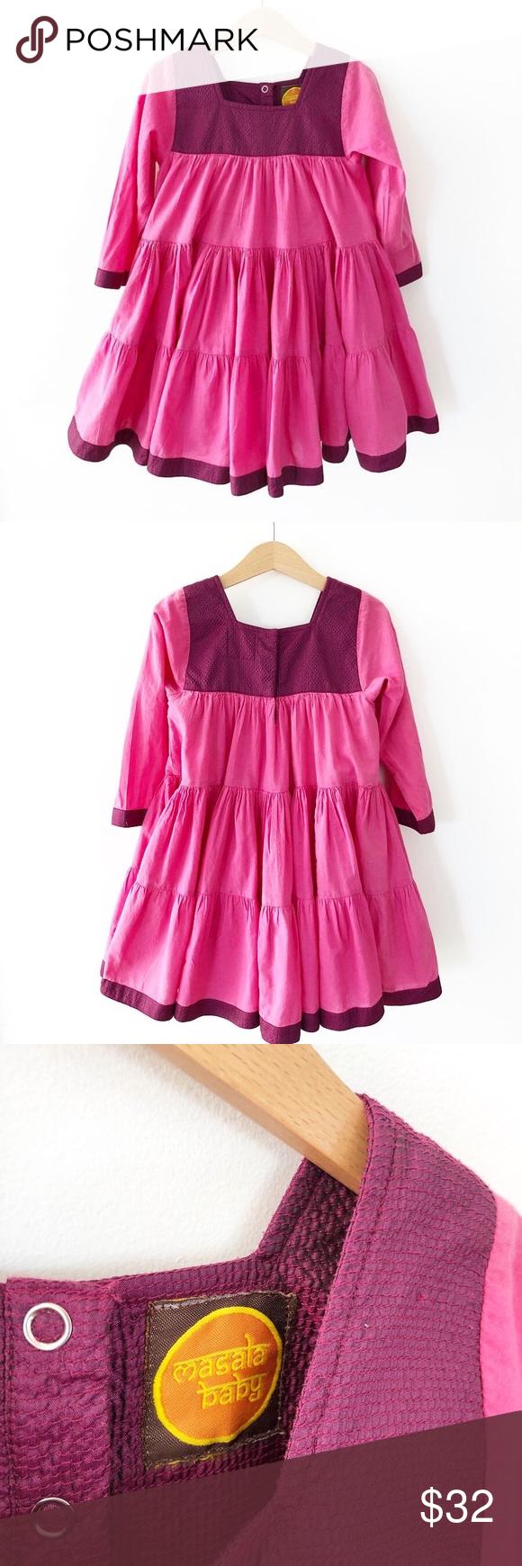 100 Cotton Masala Baby Twirl Pink Party Dress 4t Pink Party Dresses Party Dress 4t Dress [ 1740 x 580 Pixel ]