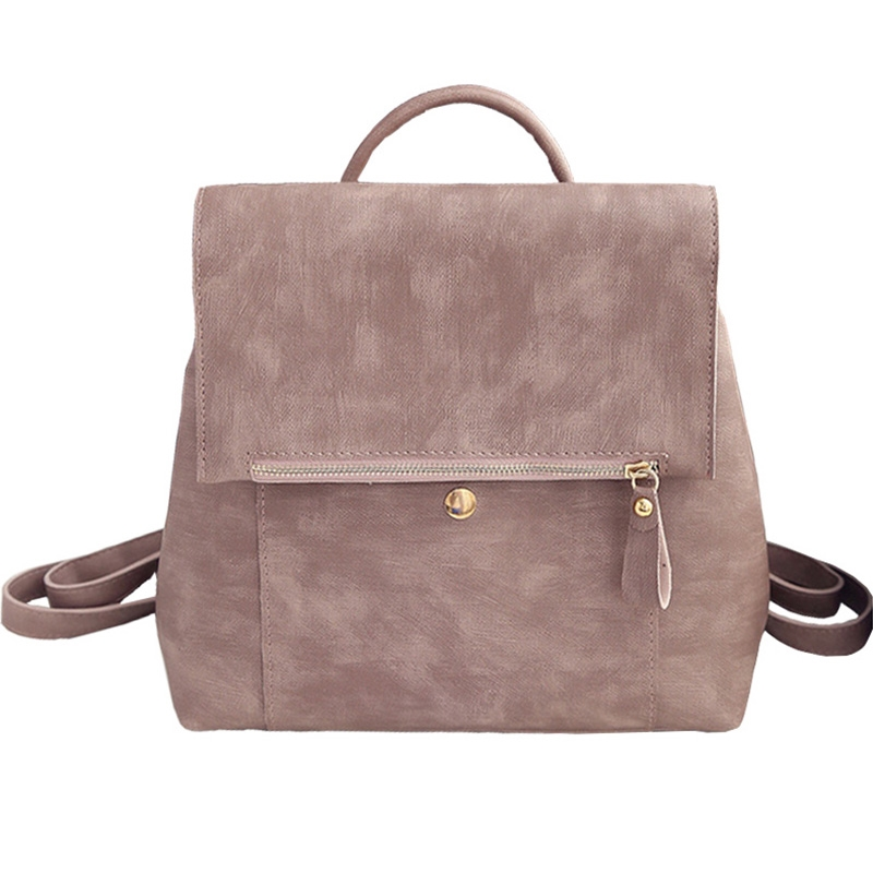 23.40$  Buy here - http://alitin.shopchina.info/go.php?t=32799615368 - Women Backpack Vintage Large Shoulder Bag For Teenage Girls High Quality PU Leather Rucksack Simple Style Casual Backpack XA381B 23.40$ #SHOPPING