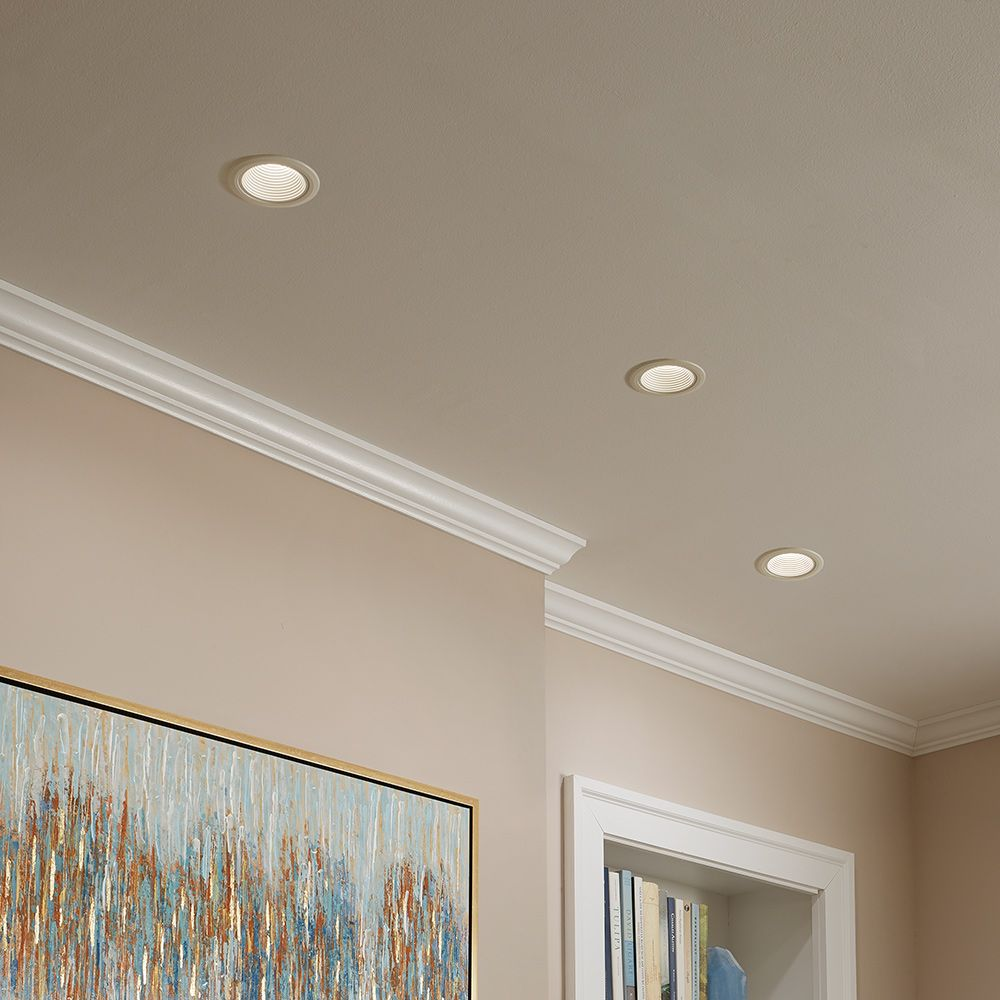 A Freshly Painted Ceiling With Crown Moulding Best Ceiling