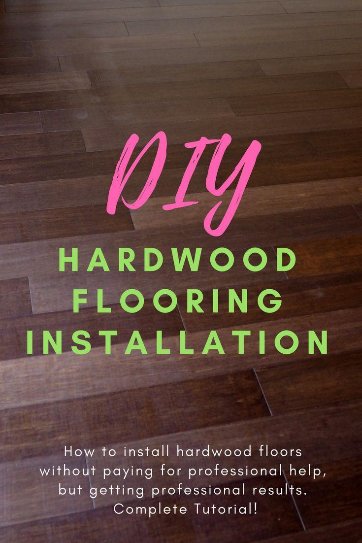 Beginner Tutorial Diy Bamboo Click Lock Flooring Installation Inexpensive Home Decor Blogger Decor Diy Decor Crafts