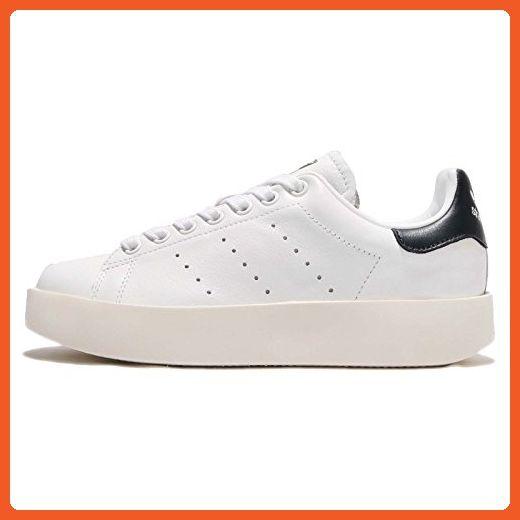 Adidas donne 'stan smith - w, nero / nero / marina, 6 di noi athletic