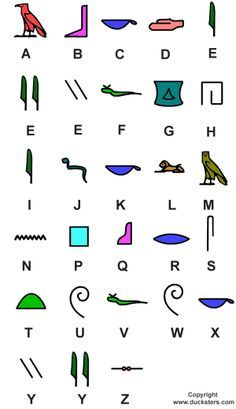 Photo of Ancient Egypt for Kids: Hieroglyphic Examples and Alphabet