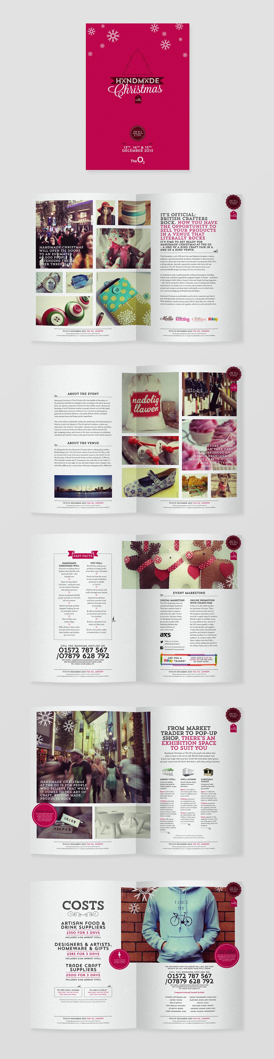 Montrosecreative Com Handmade Christmas At The O2 Branding And