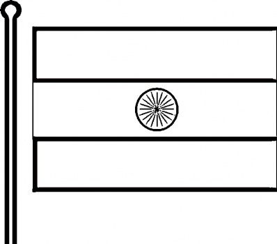 image about Indian Flag Printable identified as Indian Flag I \u003c3 INDIA Flag coloring webpages, Absolutely free