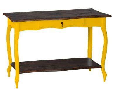 Aparador Luis XV Amarelo Demolição - 115X76cm