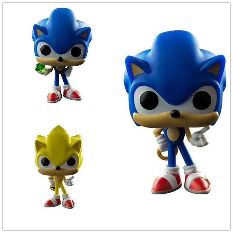 Pop 10cm Anime Sonic The Hedgehog Series Dolls Action Figure Fit Gifts Toys Anime Sonic Hedgehog Sonic The Hedgehog Exercise For Kids Kids Gifts