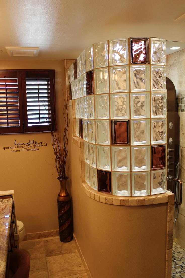 5 Innovative Glass Block Shower Ideas Bathrooms Glass