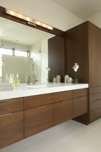 Vanity And Countertop So Much Space And Storage Modern Bathroom Vanity Modern Bathroom Cabinets Beautiful Bathroom Cabinets