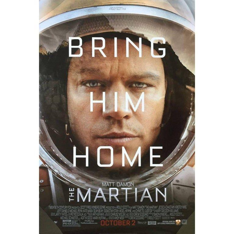 The Martian Film Poster 2015 Der Marsianer Filme Filme Sehen