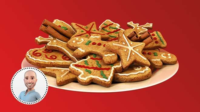 Biscuits des Fêtes de Stefano Faita