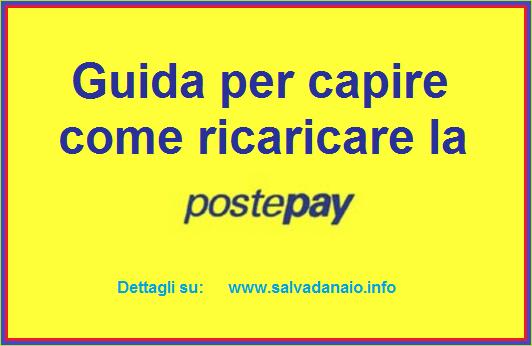 Guida Per Ricarica Carta Postepay Poste Guida Salvadanaio Carta