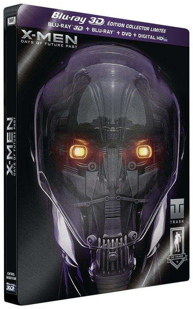 X-Men : Days of future past en blu-ray métal collector édition limitée