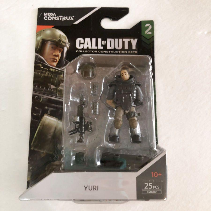 Mega Construx Call Of Duty 2 Yuri Mini Figure Mega Call Of Duty Mini Figures Yuri